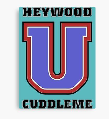 Heywood U. Cuddleme Canvas Print
