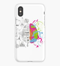 Analytical and Creative Brain iPhone Case/Skin