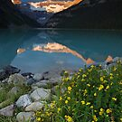 Lake Louise at sunrise by Eivor Kuchta