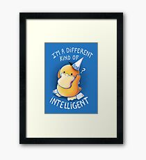 Dumb but Intelligent Framed Print