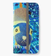 Techno XLI (2016) (Cat & Dog) - by artcollect iPhone Wallet/Case/Skin
