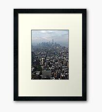 New York Rooftops Framed Print