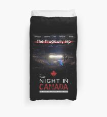 night in canada Duvet Cover