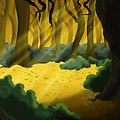 Gold  Wood by thedustyphoenix