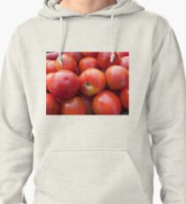 A pile of luscious bright red tomatoes Pullover Hoodie