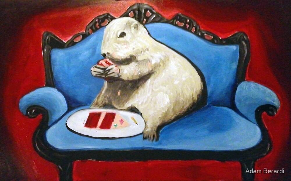 Prairie Dog and Birthday Cake by Adam Berardi Redbubble