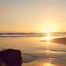 SUNSET . PANTONE MAUVE by Laura E  Shafer