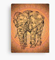 """Elephant Spirit"" version2 ,  Canvas Print"