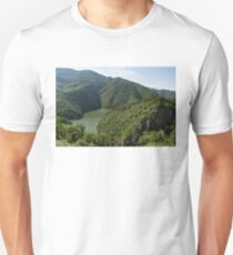 More Than Fifty Shades Of Green - Secluded Lake in the Mountains Unisex T-Shirt