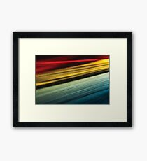 Take me back to the 60's Framed Print