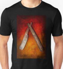 Barber - Shaving - Keep a stiff upper lip Unisex T-Shirt