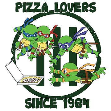 Pizza Lovers Since 1984 by FraStiller