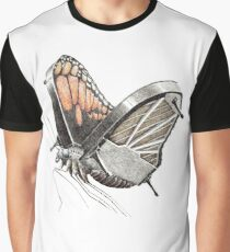 piano butterfly Graphic T-Shirt