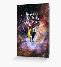 LalaLand Greeting Card