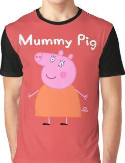 Mummy Pig Graphic T-Shirt