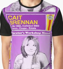 Cait Brennan - Introducing The Breakdown Manual Graphic T-Shirt