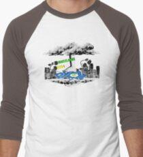 PyCon Australia Brisbane 2014 Men's Baseball ¾ T-Shirt