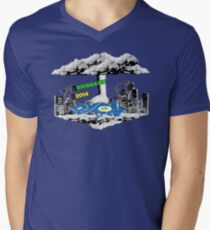 PyCon Australia Brisbane 2014 Mens V-Neck T-Shirt
