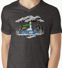 PyCon Australia Brisbane 2014 Mens V-Neck T-Shirt