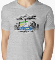 PyCon Australia Brisbane 2014 Men's V-Neck T-Shirt