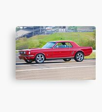 1965 Ford Mustang Coupe Canvas Print