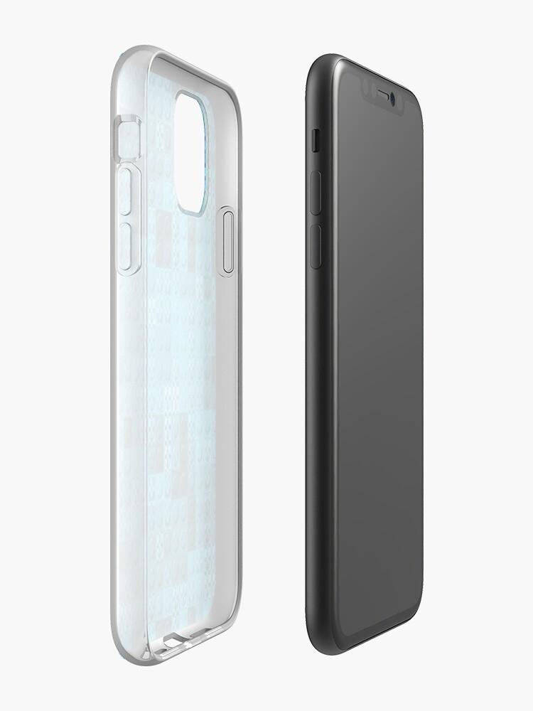 Coque iPhone «Arrière-plan texturé sans couture 3D», par BrunoBeach