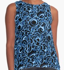 Tangle Blue Contrast Tank