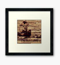 Fabulous Lion Framed Print