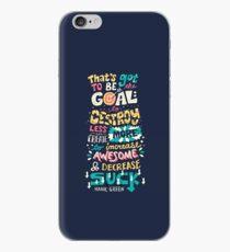 Increase Awesome, Decrease Suck iPhone Case