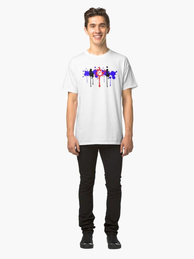 Alternative Ansicht von Welpen-Stolz-Spritzen Classic T-Shirt
