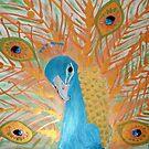 Metallic Peacock by Heidi Foreman