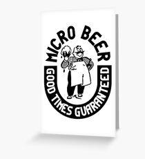 #beer Greeting Card