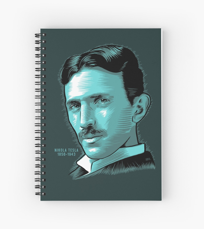 Nikola Tesla Portrait Science Electrical by SteamerTees