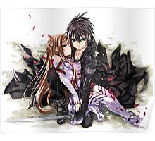 SAO Asuna &  Kirito  Poster