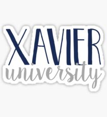 Xavier University Sticker