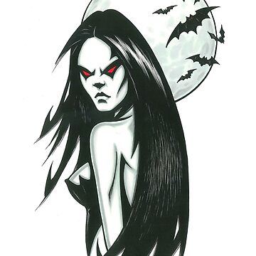 Sexy Moonlight Gothic Vamp by larryweber