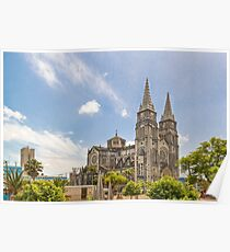 Metropolitan Cathedral Fortaleza Brazil Poster