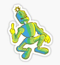 Robotic Fallout Sticker