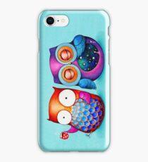 Night Owl Morning Owl iPhone Case/Skin