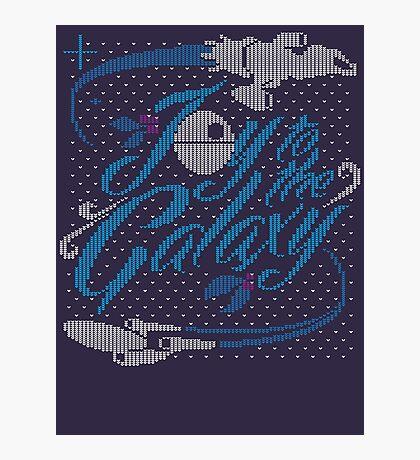 Joy to the Galaxy 2 Photographic Print