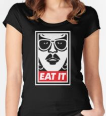 Eat It Women's Fitted Scoop T-Shirt