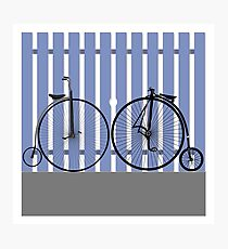 Penny Farthing cycle Photographic Print