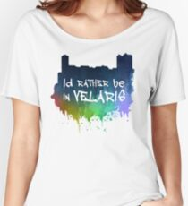 I'd Rather Be In Velaris Women's Relaxed Fit T-Shirt