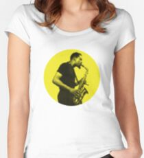 eric dolphy cool jazz Women's Fitted Scoop T-Shirt