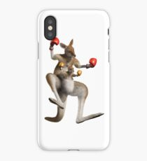 kangourou boxe iPhone Case/Skin