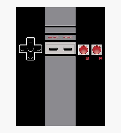 Be the Controller - NES Photographic Print