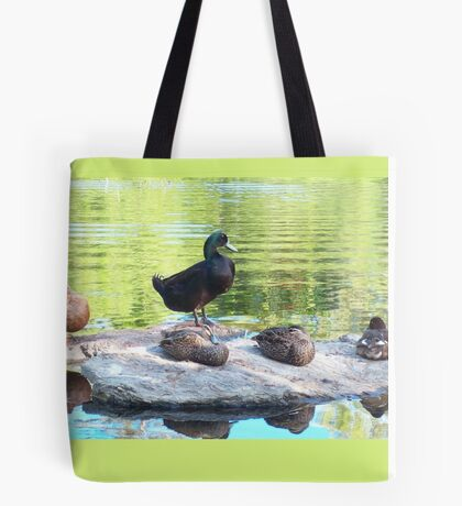 hanging with the posse ...  Tote Bag