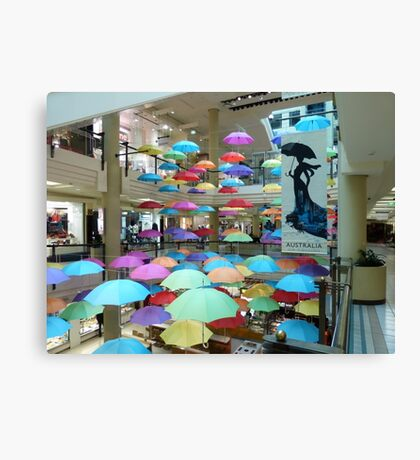 Is Mary Poppins in town, with a few spares!  Canvas Print