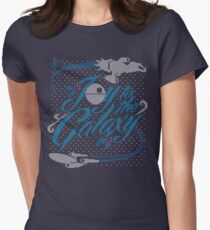 Joy to the Galaxy 2 Women's Fitted T-Shirt