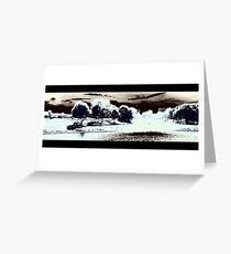 Monochrome 1 by Pasha du Valentine Greeting Card